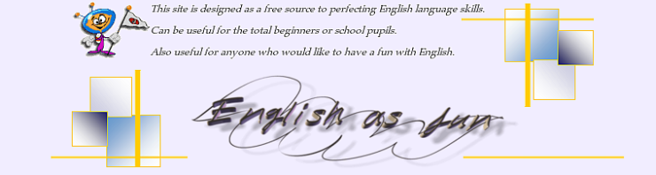 English as fun banner